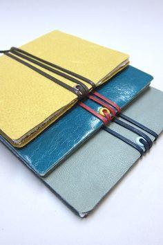 Leather Journals @nicopapergoods
