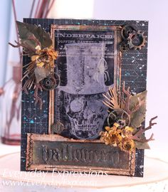 Hi Everyone! Today I'm sharing this month's Tim Holtz 12 Tags of 2016 Technique…