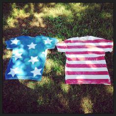 DIY Fourth of July shirts