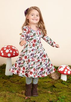 Matilda Jane~Once Upon A Time~R2 Little Miss Alice Dress, size 4