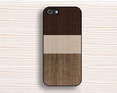 cas d'iphone de grain de bois iphone bois foncé 5c cas par anewcase, $9.99