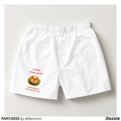 PANCAKES BOXERS - Dashing Cotton Underwear And Sleepwear By Talented Fashion And Graphic Designers - #underwear #boxershorts #boxers #mensfashion #apparel #shopping #bargain #sale #outfit #stylish #cool #graphicdesign #trendy #fashion #design #fashiondesign #designer #fashiondesigner #style