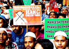 The Muslims also staged a series of protest marches, the most recent of which did become a riot last Sunday. Over a dozen policemen were injured in the resulting violence, according to India TV News, while about 30 vehicles were set ablaze. http://www.nowtheendbegins.com/muslims-in-india-riot-after-hindu-leader-calls-mohammed-the-worlds-first-homosexual/