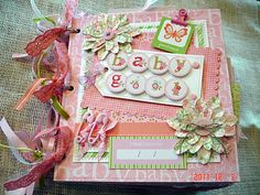 Scrapbooking by Phyllis: Premade 8x8 Scrapbook Paper Bag Album