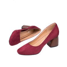 Big Size Casual Square Heel British Style Oxofrd Shoes - NewChic Mobile