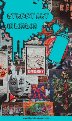 Where to find the best street art in London - including Brixton, Shoreditch and Deptford. London Art, London Street, London Grace, Georges Seurat, Best Street Art, Brixton, French Artists, Cool Walls, Street Artists
