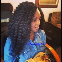 Crochet braid Marley hair