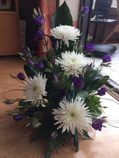 me ~ Creative Flower Arrangements, Contemporary Flower Arrangements, White Flower Arrangements, Funeral Flower Arrangements, Silk Floral Arrangeme…