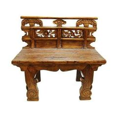 Electronics, Cars, Fashion, Collectibles, Coupons and Asian Chairs, Wooden Benches, Chinese Antiques, Take A Seat, Outdoor Furniture, Outdoor Decor, Hand Carved, Ethnic, Flare