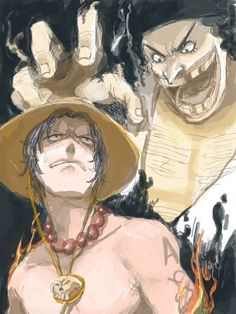 Ace and Blackbeard