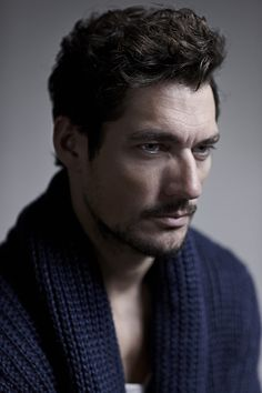 A Relaxed David Gandy Poses for The Telegraph image tel001