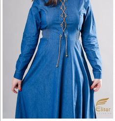 Wonderful Vrangler Jeans Dress at www.modestgarments.com / Casual 🌹🛍 #modestgarments #hijabstyle #hijabfashion #modest #muslimawear… Jeans Dress, Hijab Fashion, Muslim, Dresses With Sleeves, Long Sleeve, Casual, Instagram, Sleeve Dresses, Long Dress Patterns