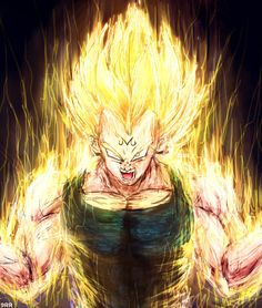 Super Vegeta by Sersiso on DeviantArt