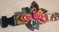 Wish Finley was a girl so he could wear this! Flower Accessory for Dog Collar. $6.00, via Etsy.