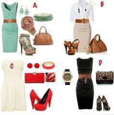 Four great outfits! Pick your favorite. I Love Fashion, Passion For Fashion, Fashion Beauty, Fashion Design, Cool Outfits, Fashion Outfits, Womens Fashion, Fashion Ideas, Swag Outfits