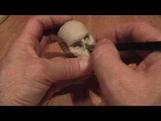 comment réaliser une tête de mort en pâte Fimo