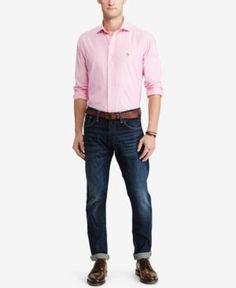 Polo Ralph Lauren Men's Oxford Shirt - Pink XXL