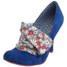 blue wedding shoes irregular choice - Google Search