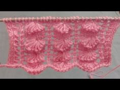 Knitting Pattern - Cross Stitch pattern | Stitch Design| हिंदी बुनाई डिजाइन - YouTube