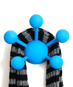 Loving this Blue Atom Coat Hook by Modern Littles on #zulily, $12 !! #zulilyfinds
