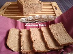 Pan de centeno integral en panificadora | Mil sabores & olores