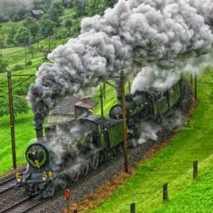 Steam train in Germany repin by #dazehub #dazepicamaze #monopolizesocialmedia