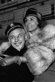 Lena Horne Husband | 18/61: Lena Horne, singer, with her husband, Lennie Hayton ...