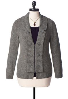 Military Cardigan Sweater - Christopher & Banks
