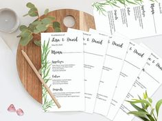 Your place to buy and sell all things handmade Wedding Menu, Wedding Invitations, Wedding Ideas, Printable Menu, Menu Template, Watercolor Wedding, Wedding Thank You Cards, Artwork Prints, Wedding Flowers