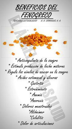 #salud #beneficios #fenogreco
