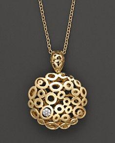"Roberto Coin ""Mauresque"" diamond pendant Gold Rings Jewelry, Jewelery, Fine Jewelry, Women Jewelry, Roberto Coin, Diamond Bracelets, Diamond Pendant, Jewelry Collection, Jewelry Design"