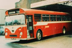 Early 70. non standard saloons - Barton 1141, a Willowbrook bodied AEC Reliance 590, was a second vehicle acquired from Safeguard coaches of Guildford