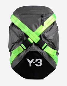 Whaaat is this webbing for? Crazy interesting...  Y-3 - Backpack