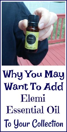 Why I find elemi essential oil so useful and why you may want to add it to your own essential oil collection.