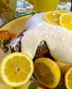 Italian Lemon Dove Cake with Limoncello Icing #lemon #cake #dove #colomba #easter #italian #limoncello | La Bella Vita Cucina