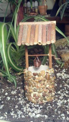 Fairy Garden Miniature Wishing Well Dollhouse by TheCopperFaeri on Etsy https://www.etsy.com/listing/205128061/fairy-garden-miniature-wishing-well