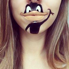 Искусство росписи губ от Лоры Дженкинсон