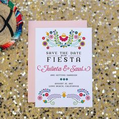 invitations mariage broderies mexicaines mariage mexicain ou bohème