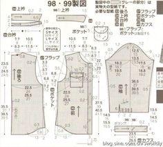 shirt, medium length sleeve Shirt Patterns For Women, Mens Shirt Pattern, Baby Dress Patterns, Vintage Dress Patterns, Dress Shirts For Women, Coat Patterns, Clothing Patterns, Blouse Patterns, Sewing Patterns