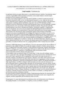 Un lavoro del ginecologo Luigi Langella sul problema dell'incontinenza delle donne durante la gravidanza.
