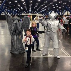 Doctor Who cosplay for the whole family