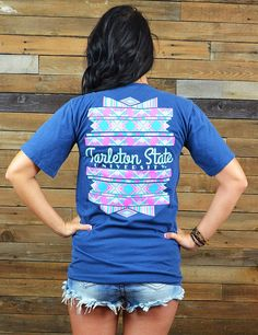 Isn't this new design to die for? Rock this new Tarleton State University t-shirt everywhere you go! It is perfect, and on a Comfort Color t-shirt! Go Texans!!