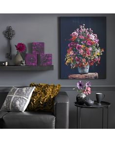 BRIGHT FLORAL CANVAS from www.grahambrown.com