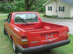 This is what I NEED! Convert my #Volvo into a pickup? Yes.