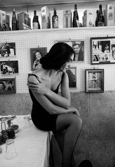 Fashion Story, Sicily 1991 Photographer: Ferdinando Scianna Model: Carmen San Martin