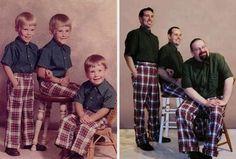 Des photos d'enfances recrées - Ayoye