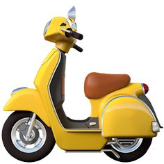 At long last, Apple is releasing brand-new and completely redesigned emoji, including avocado (avocado toast! Piaggio Scooter, Scooter Motorcycle, Vespa Lambretta, Racing Motorcycles, Motor Scooters, Vespa Scooters, Apple Emojis, Vespa 150, Emoji Photo