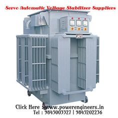 #Powerengineers is the best leading Servo Automatic Voltage Stabilizer Suppliers in Bangalore.