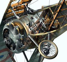 Nieuport 17 Cutaway (800×743)
