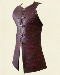 Studded coat.... bryce would wear this it just needs no metal, tied together instead